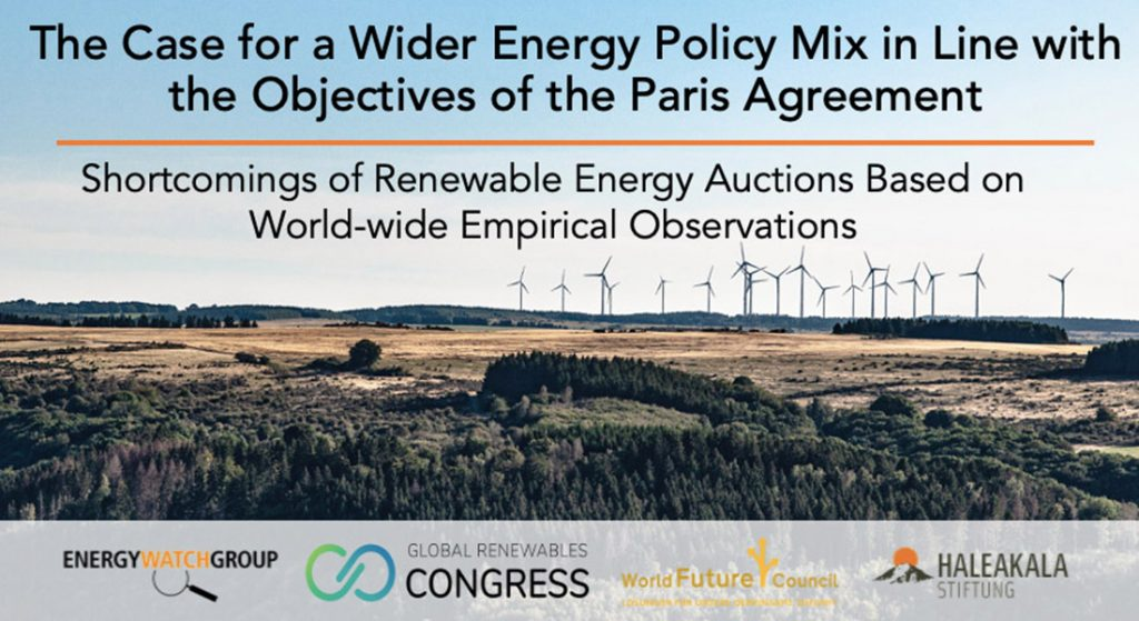 New Study: Current policy frameworks hinder expansion of renewable energies worldwide and undermine climate targets